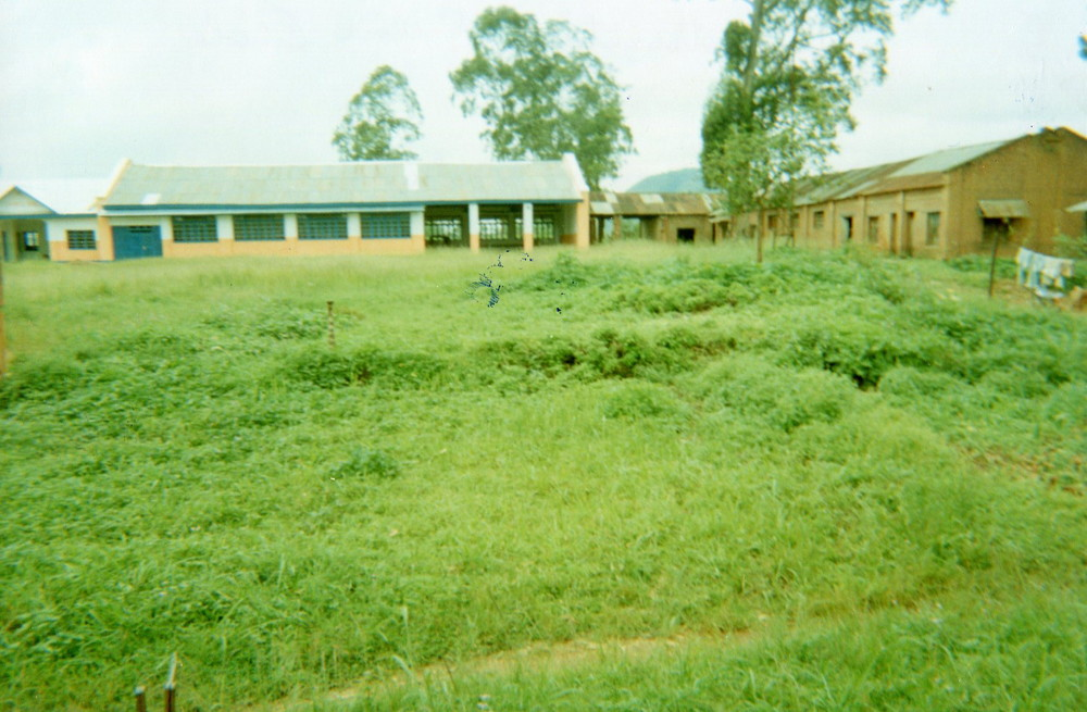 School reconstruction under the initiative of the people.