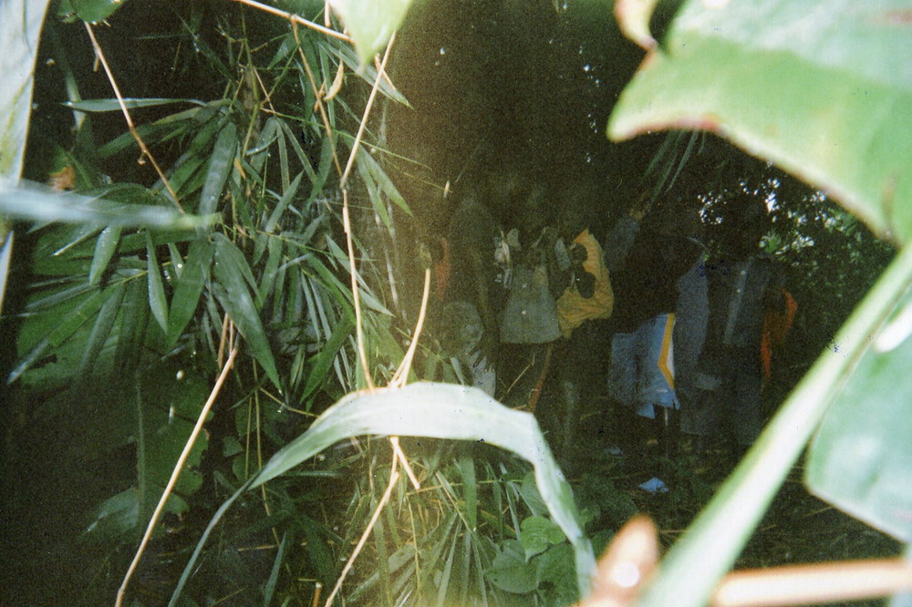 These children hide themselves in the bush when the militias arrive.