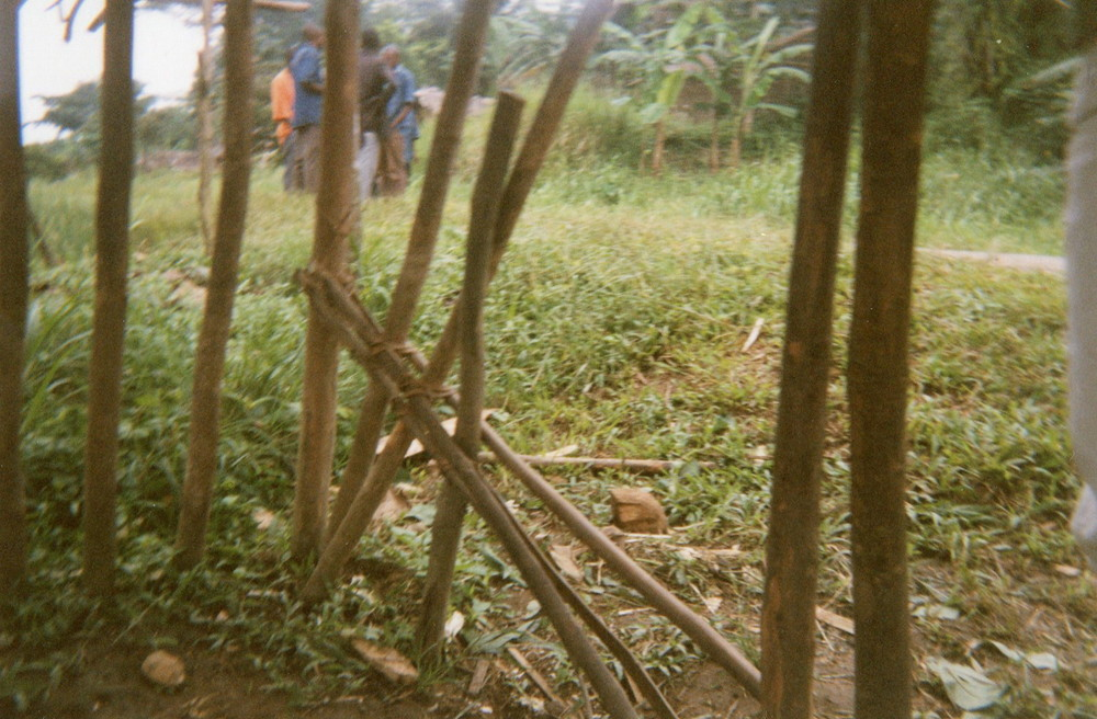 This photo explains how many times I was isolated from the community when I was in the armed groups.