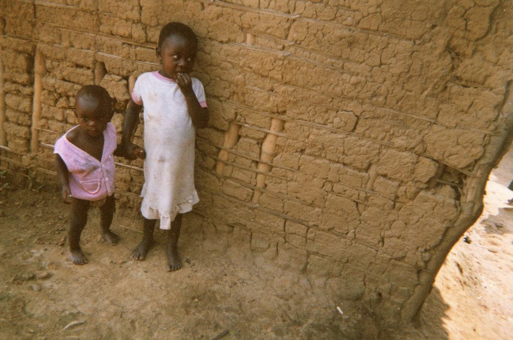 This shows the life of our children, they didn't have shoes and they didn't have clothes.