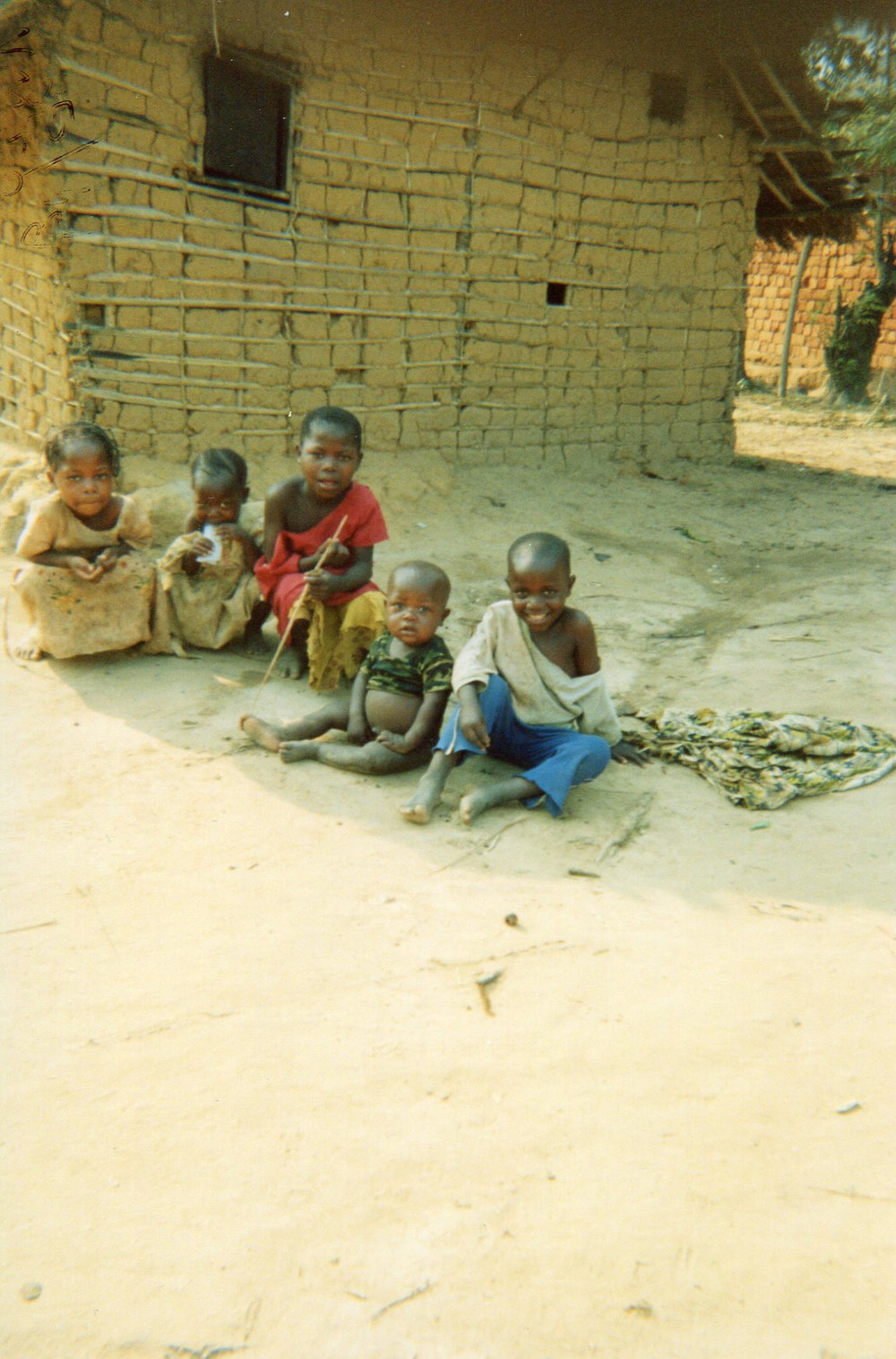 When I left the forest I met a lot of difficulties at home when I saw that all the kids did not have food.
