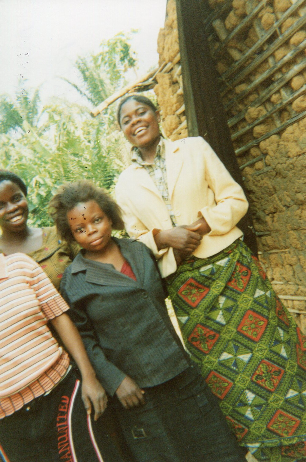 These are our girls we were with in the Mai Mai, we returned to the village and we live together.