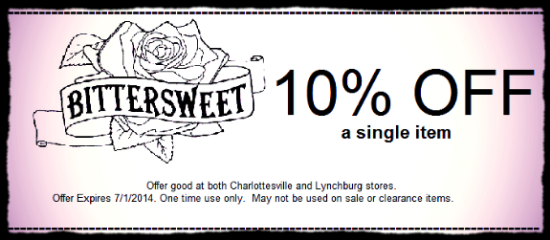 Print off coupon and bring it with you on your next visit.