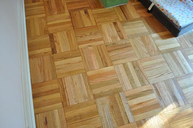 E's finished floors.