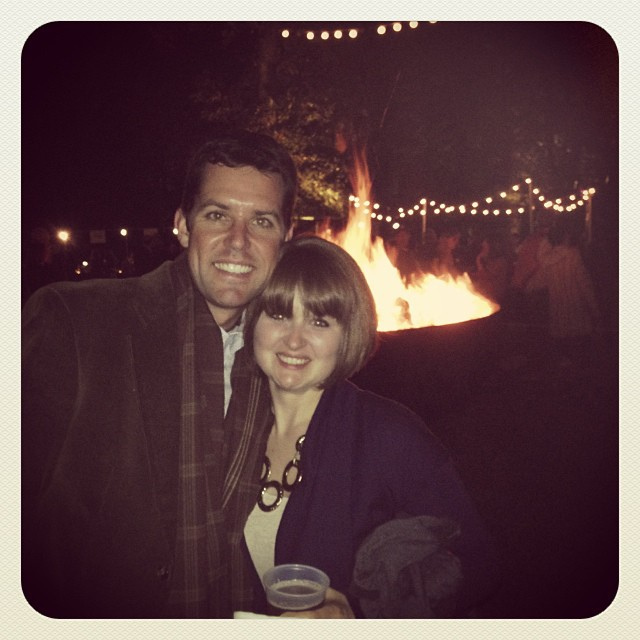 My last market was Oct 26th. Chris and I celebrated it, and my birthday, at Art on Fire at the Dixon.