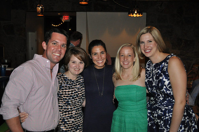 The rehearsal dinner brought together Hendrix friends!