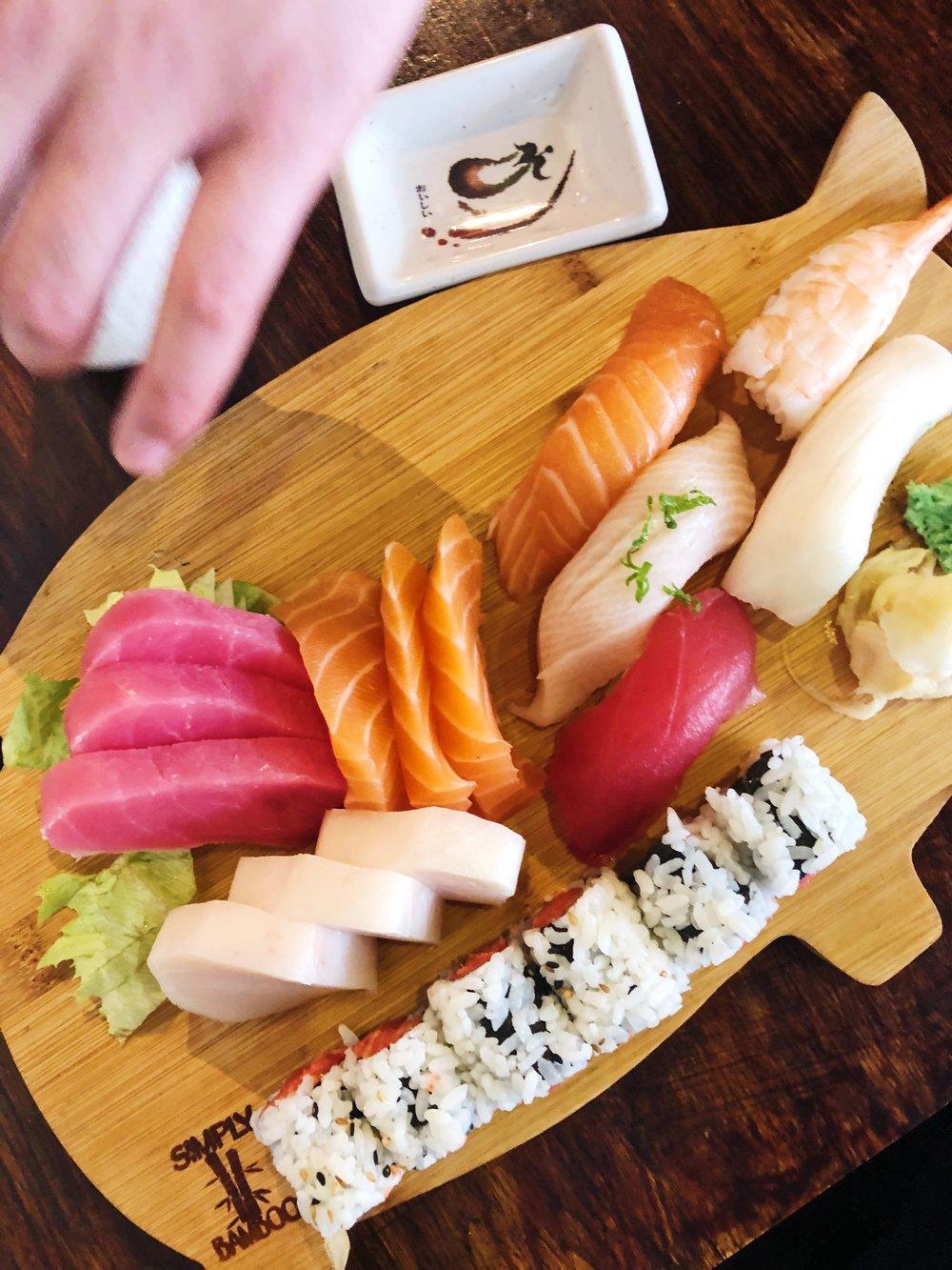 Sushi & Sashami