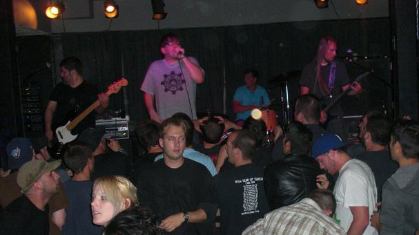 Legendary punk band 88 Fingers Louie draw a crowd at Mavericks during their 2010 reunion tour.