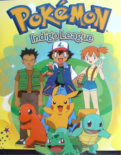 Official Pokemon season one cover.