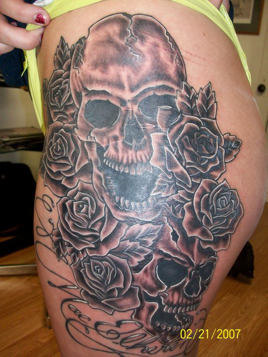 Tattoo done by: Justin Diotte