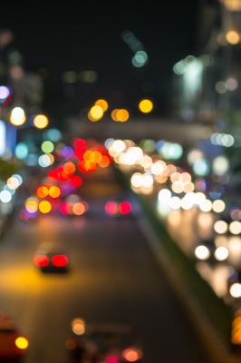 Abstract Blur Traffic And Car Lights Bokeh In Rush Hour Backgrou By Nipitphand FreeDigitalPhotos.net