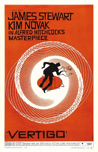POSTER FOR   VERTIGO   (1958) IMAGE SOURCE: COMMONS.WIKIMEDIA.ORG
