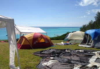 Camping at Whale Bay