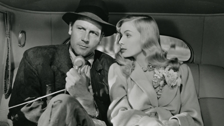 Joel McCREA AND Veronica Lake in Sullivan's Travels. Image source: https://s3.amazonaws.com/criterion-production/stills/9345-7df190402f3717915587e8ea50d0e0f7/Sullivanw_original.jpg
