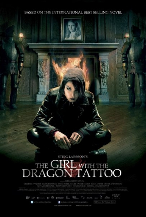 Noomi Rapace as Lisbeth Salandar in the 2009 film, official poster | Photo source:  IMDB