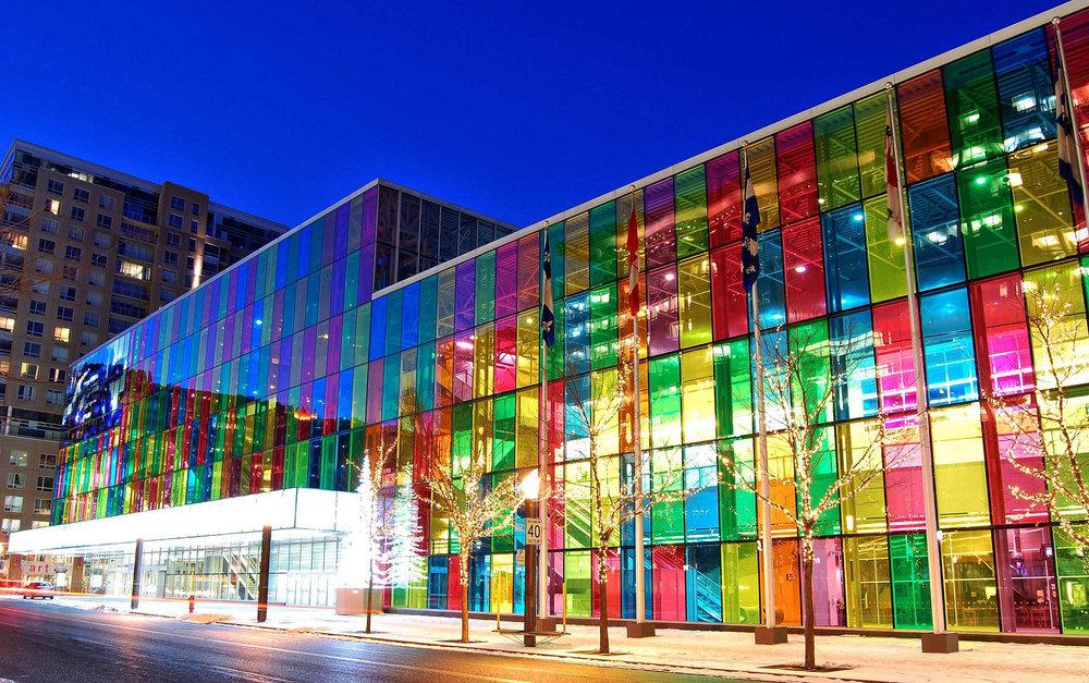 Otakuthon's home:Palais des Congrès de Montréal |photo source:Wikimedia Commons