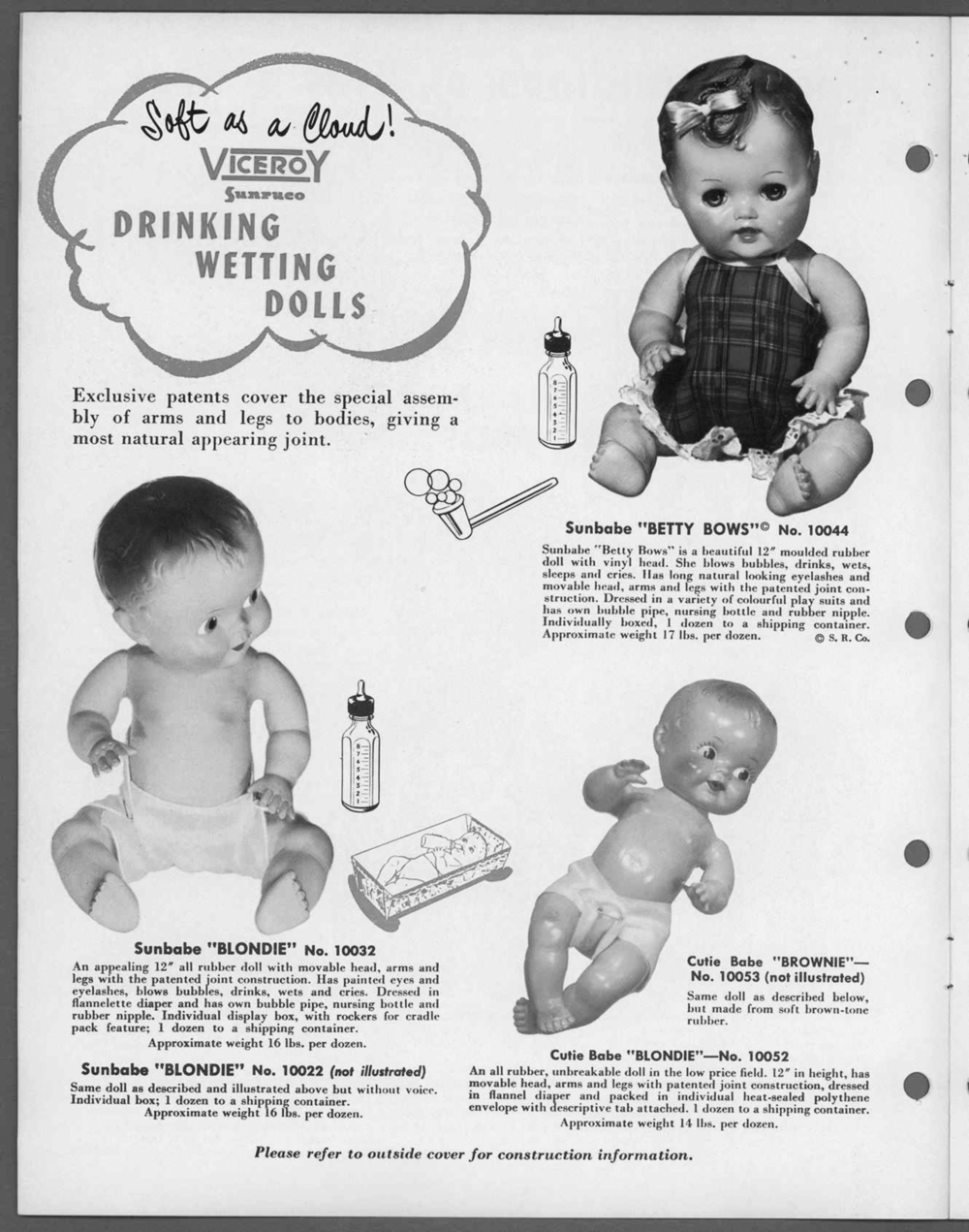 An ad from a Viceroy toy catalogue from 1956 |  Image source: the  Canadian Museum of History    ©  Viceroy Reliable Group, Collection CMC