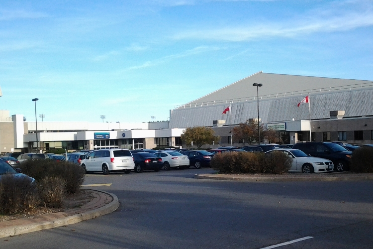 Geek Market's home: The Nepean Sportsplex | photo taken by author