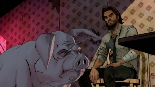 Bigby and Colin are currently available for birthday parties and bar mitzvahs // all rights reserved to telltale games