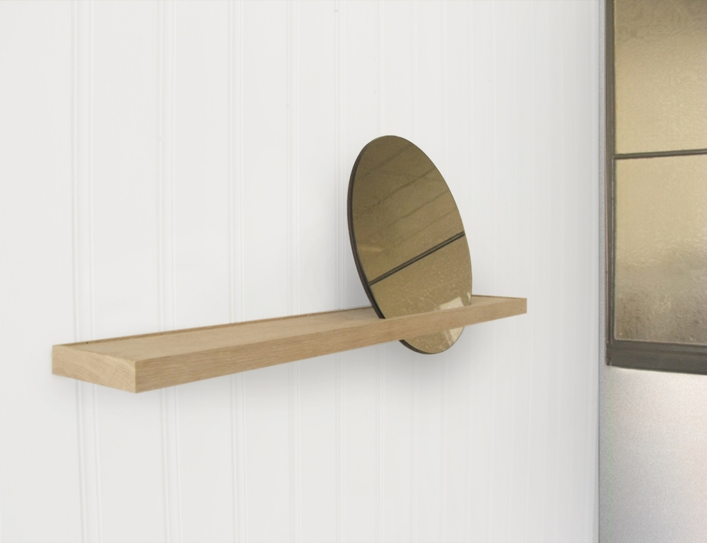 Sunset mirror - designed by Runa Klock for  leclettico