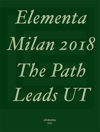 Elementa News 2018 - The Path Leads UT
