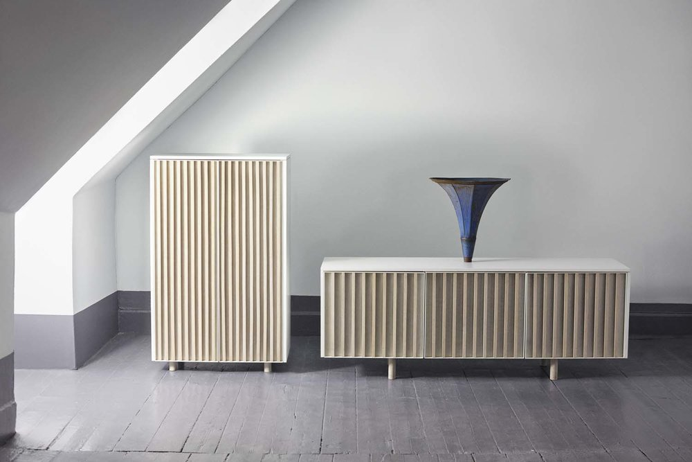 dB Sideboard and cabinet by Jonas Stokke & Øystein Austad of StokkeAustad.  Photo: Ann Holmgren