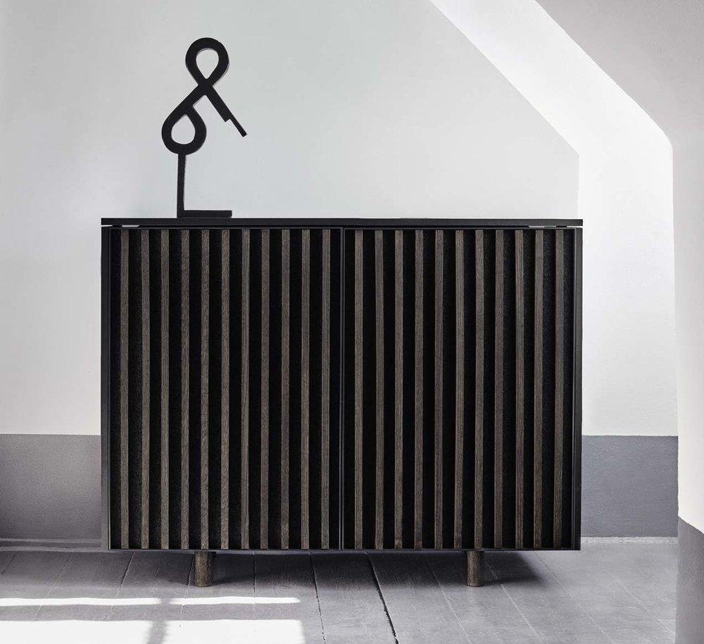 dB cabinet by Jonas Stokke & Øystein Austad of StokkeAustad.  Photo: Ann Holmgren