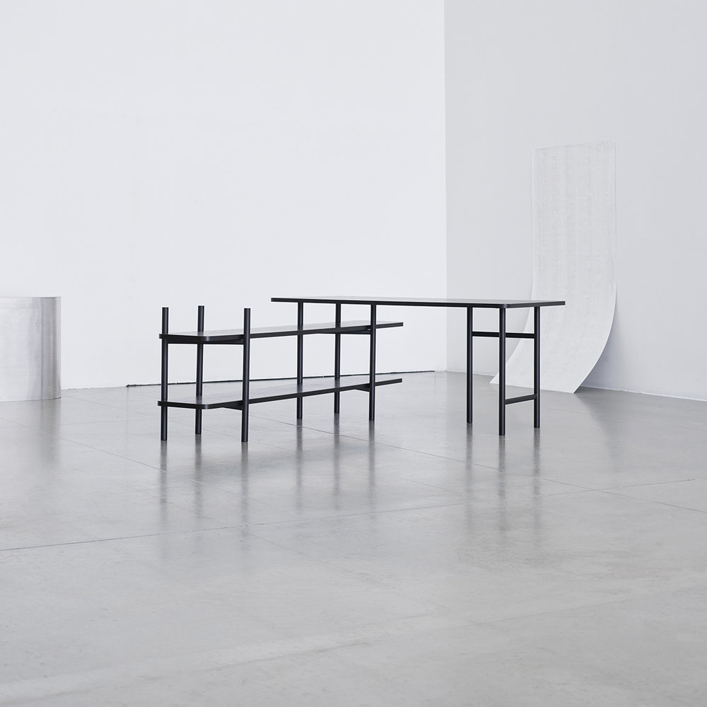UN Divided Furniture System by StokkeAustad for Elementa. Photo: Lasse Floede & Torjus Berglid