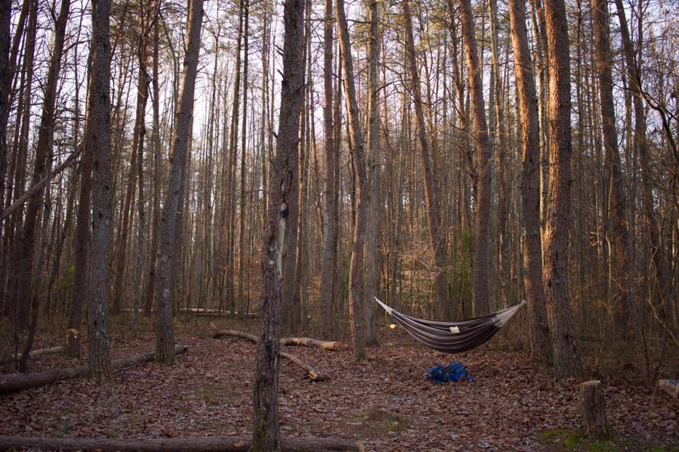 On that cold trip, my friend Anthony chose to sleep in a hammock and he nearly died.