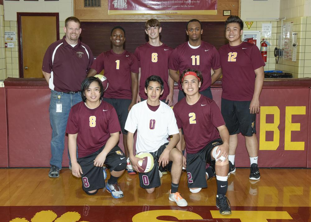 2016 Boys Volleyball Team