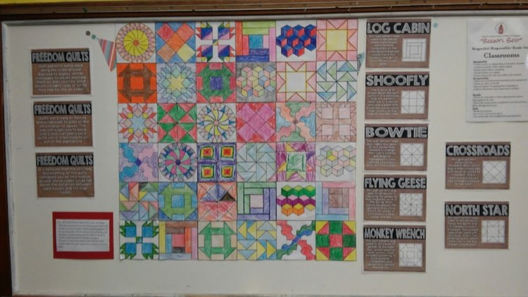 The fifth grade freedom quilt