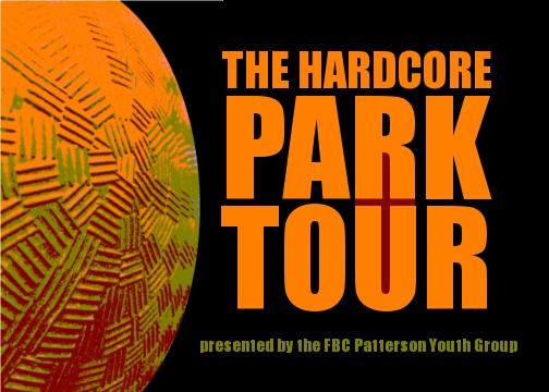 Click the image above for more info on our Hardcore Park Tour.