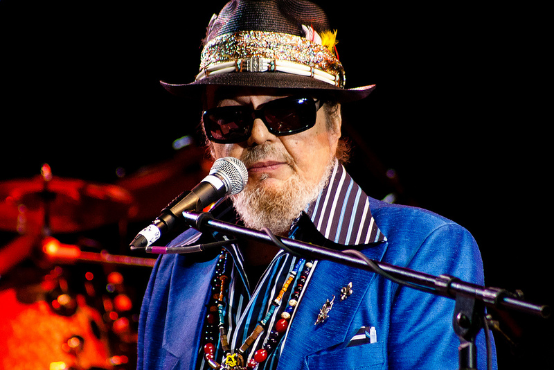 Dr. John performs at the Festival of the River 2012 in Arlington, WA.