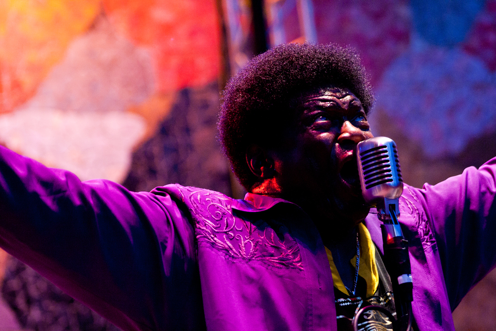 Charles Bradley performing at the 2013 Bumbershoot Music & Arts Festival at Seattle Center, Seattle, WA.