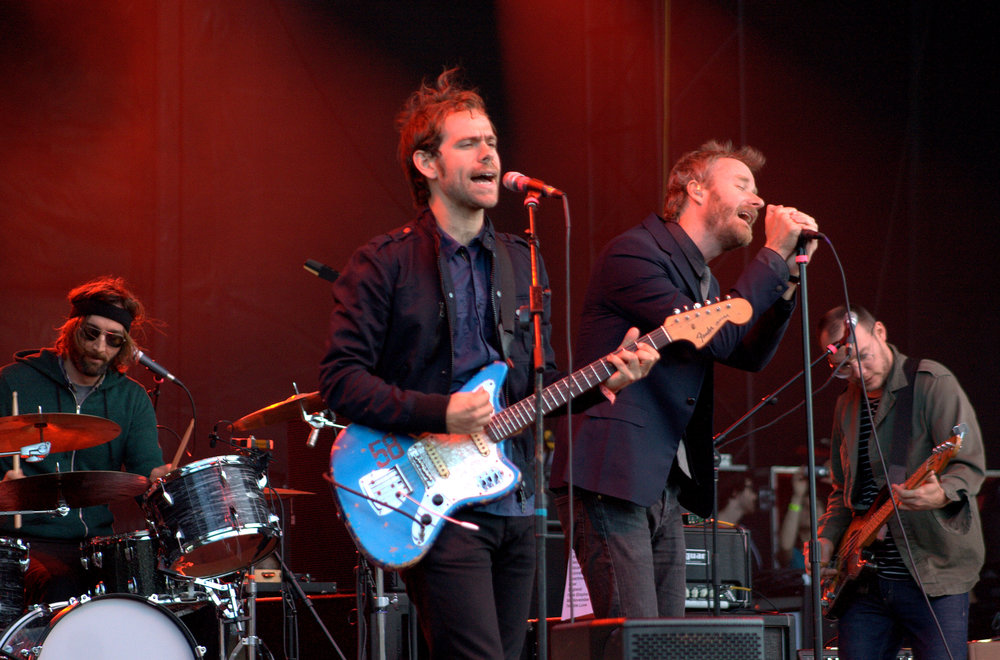 The National performing at the 2010 Sasquatch! Music Festival in George, WA.