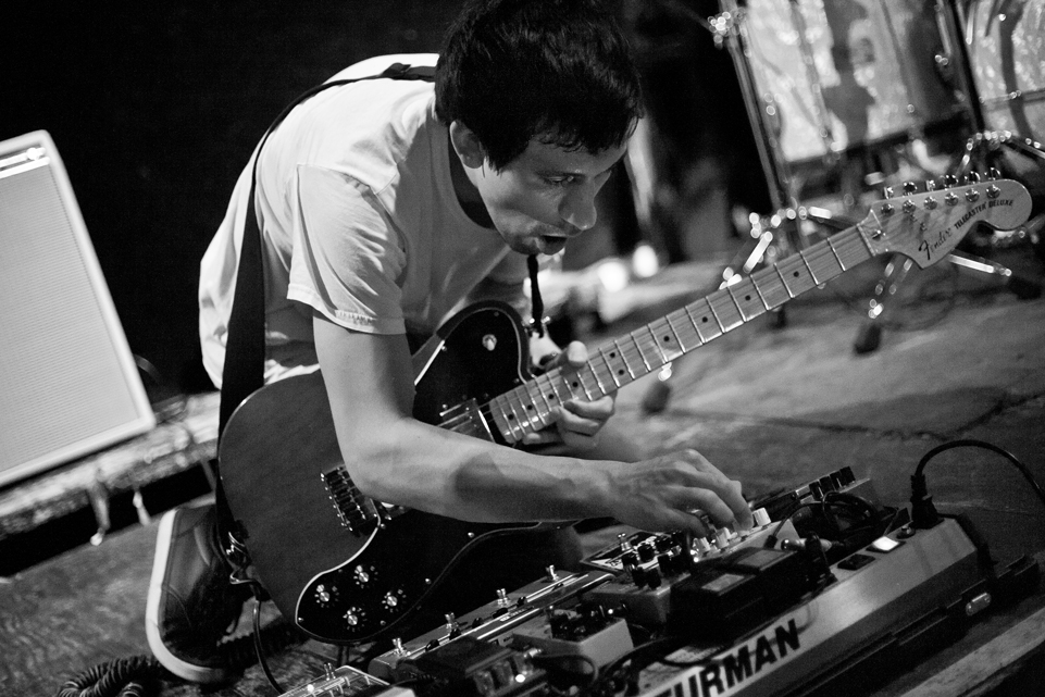Andy Lum performing with Ticktockman at the Comet in Seattle, WA.