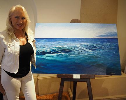 Artist Mandy Starr