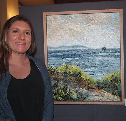 Artist Olga Hotujac