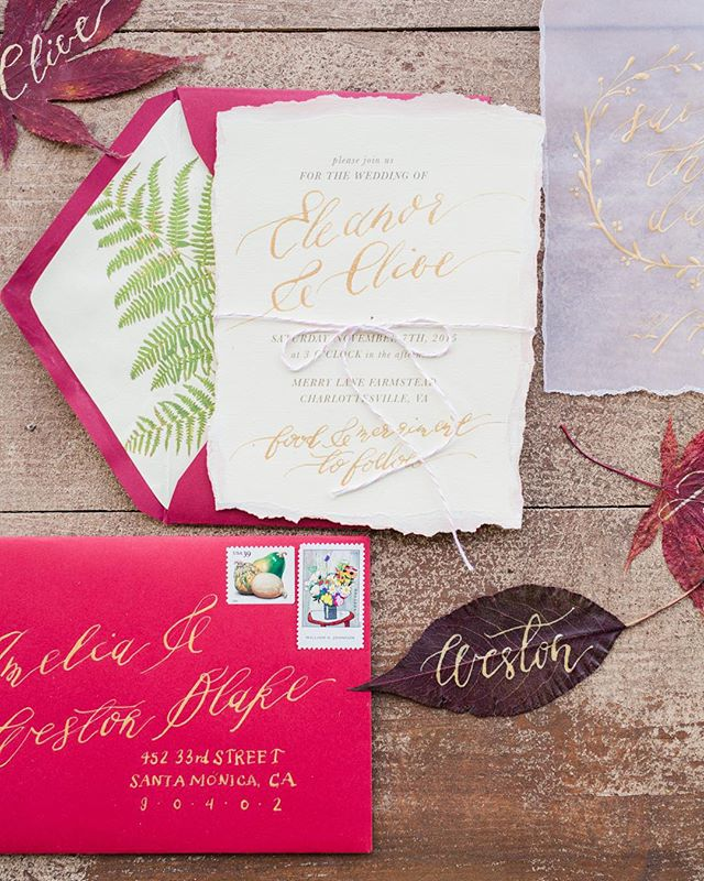 @karimephoto's fall workshop styled shoot (featuring some #sandpiperandco calligraphy / paper goods!) is on @greenweddingshoes today!! Yeehaw! #karimeworkshop #karimephotography