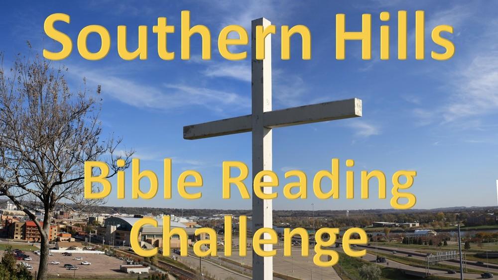 SHBC Bible reading challengE