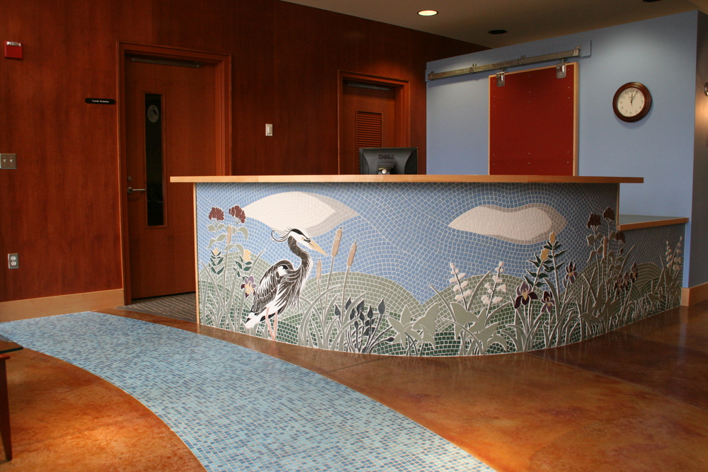 Ramsey Washington Metro Watershed District Reception Desk