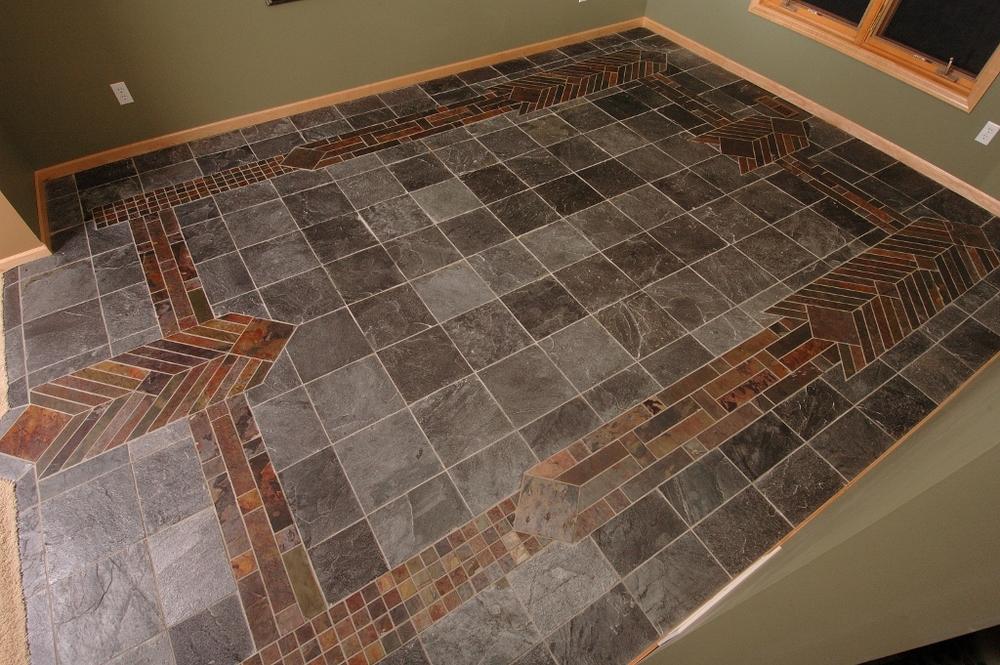 Arts & Crafts Slate Floor
