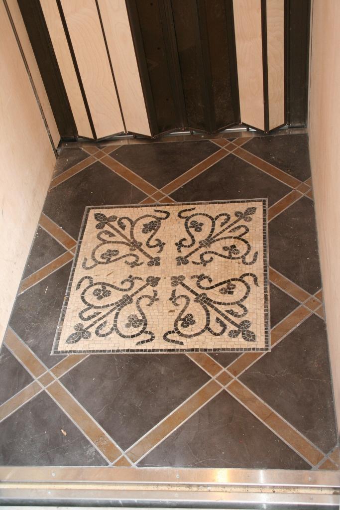 Ceramic & Stone Elevator Floor