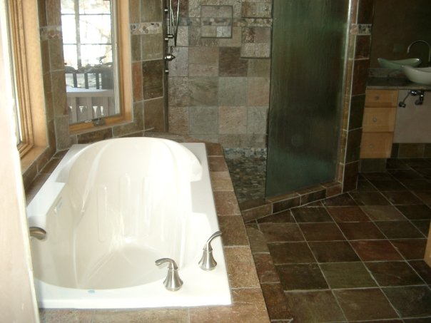 Mica Slate Bathroom