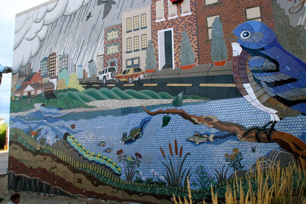 Maplewood Mall Mural