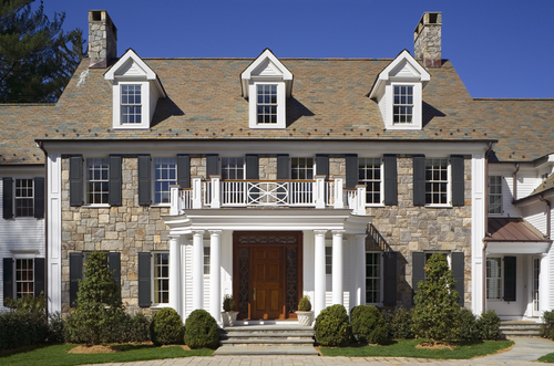 Mid-Country Colonial — Mockler Taylor Architects, LLC on exterior stair design ideas, exterior front curved stairs, front entry designs, exterior front stair railings, exterior entry design ideas, exterior concrete stairs, exterior step designs, door designs, front porch stair designs,