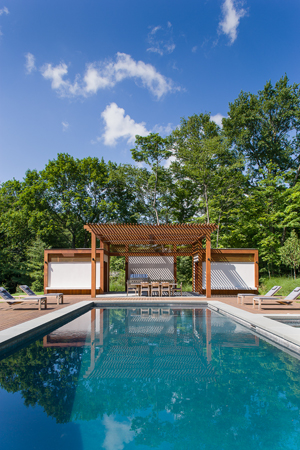 Modern Poolhouse, Greenwich, CT