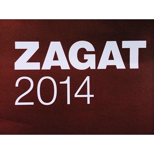 Sakura is Zagat rated!