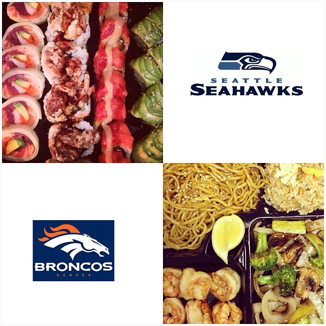 Superbowl Sunday is Feb 2nd! Call 9733358818 to place your sushi and hibachi order now! 🏈🍣🍱