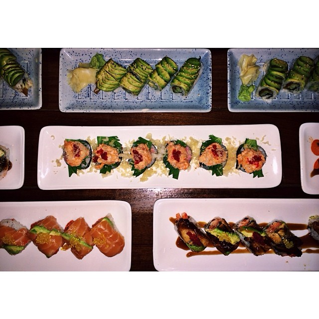 Happy Superbowl Sunday! Call us to place your sushi, hibachi, and appetizer orders before the big game!